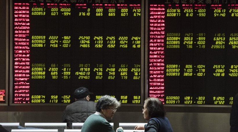 Χρηματιστήρια Κίνας: Νέα βουτιά -Διακόπηκαν οι συναλλαγές