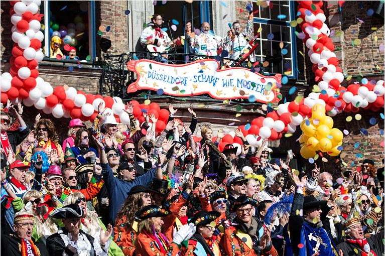 Ντισελντορφ: Σήμερα η καρναβαλική παρέλαση που αναβλήθηκε