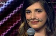 Το κορίτσι με το Μουστάκι άφησε Άφωνους τους κριτές του X-Factor