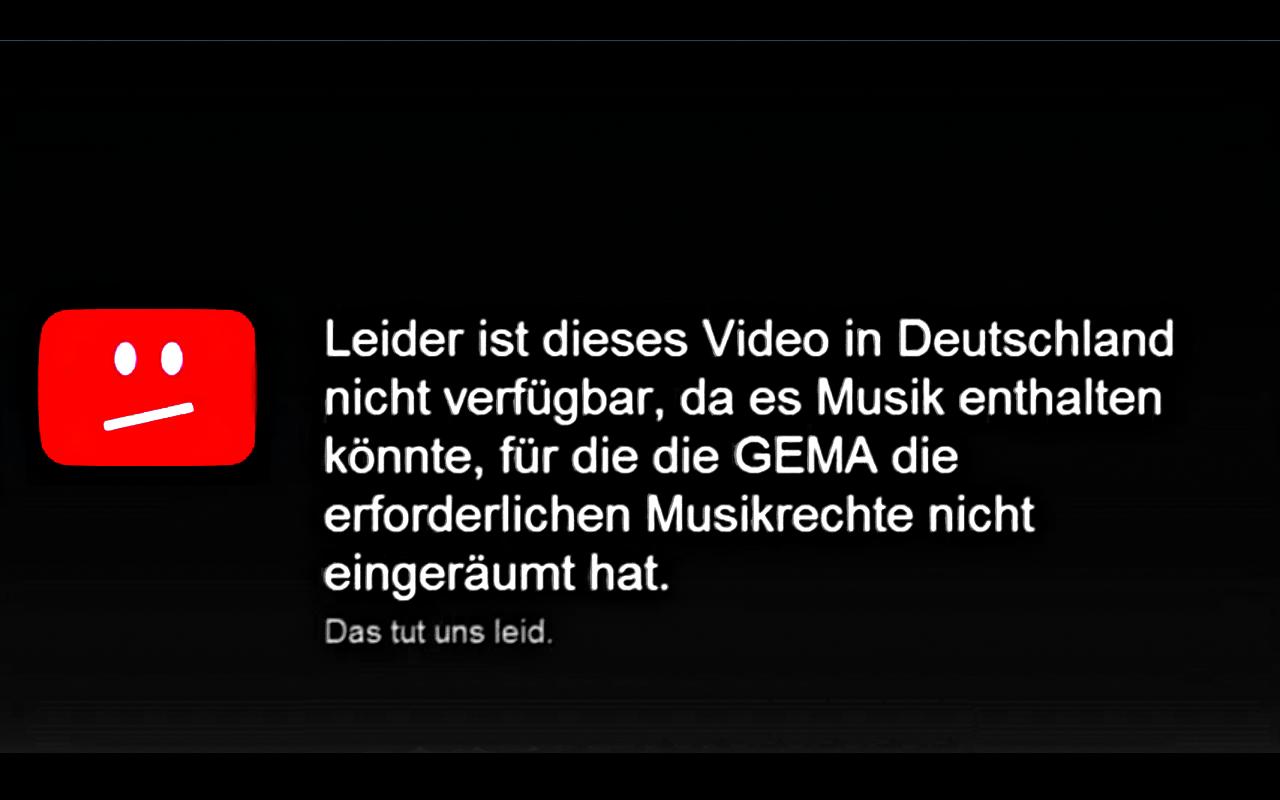 Γερμανία: Πως να δείτε βίντεο του Youtube μπλοκαρισμένα από τη GEMA