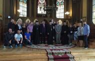 Eurovision: Η επίσκεψη της Ελληνικής αποστολής στην Ελληνική Εκκλησία!