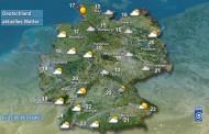 Ο καιρός στη Γερμανία για το Σαββατοκύριακο: Καταιγίδες, υγρασία και ήλιος για λίγο...