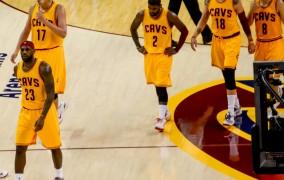 Πανηγυρισμοί από τους Cleveland Cavaliers για την κατάκτηση του πρωταθλήματος ΝΒΑ