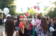 Πλήθος κόσμου στη Ν. Ιωνία για τον Παντελή -Άφησαν μπαλόνια με το όνομά του στον ουρανό