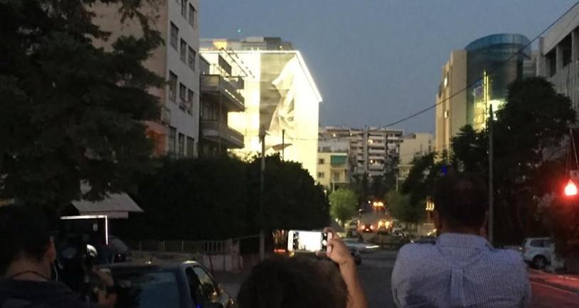 Ελλάδα: Drone εθεάθη πάνω από το κτίριο της Γενικής Γραμματείας Ενημέρωσης