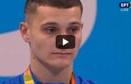 Μιχαλεντζάκης: H απονομή του χρυσού στον 17χρονο Παραολυμπιονίκη