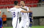 Εθνική Ελλάδος της παλιάς καλής εποχής - Επικράτησε με 2-0 επί της Κύπρου