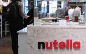 Άνοιξε η πρώτη καφετέρια Nutella! (vid)