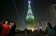 Που βρίσκεται το ψηλότερο χριστουγεννιάτικο δέντρο στον κόσμο με ύψος 73 μέτρων;