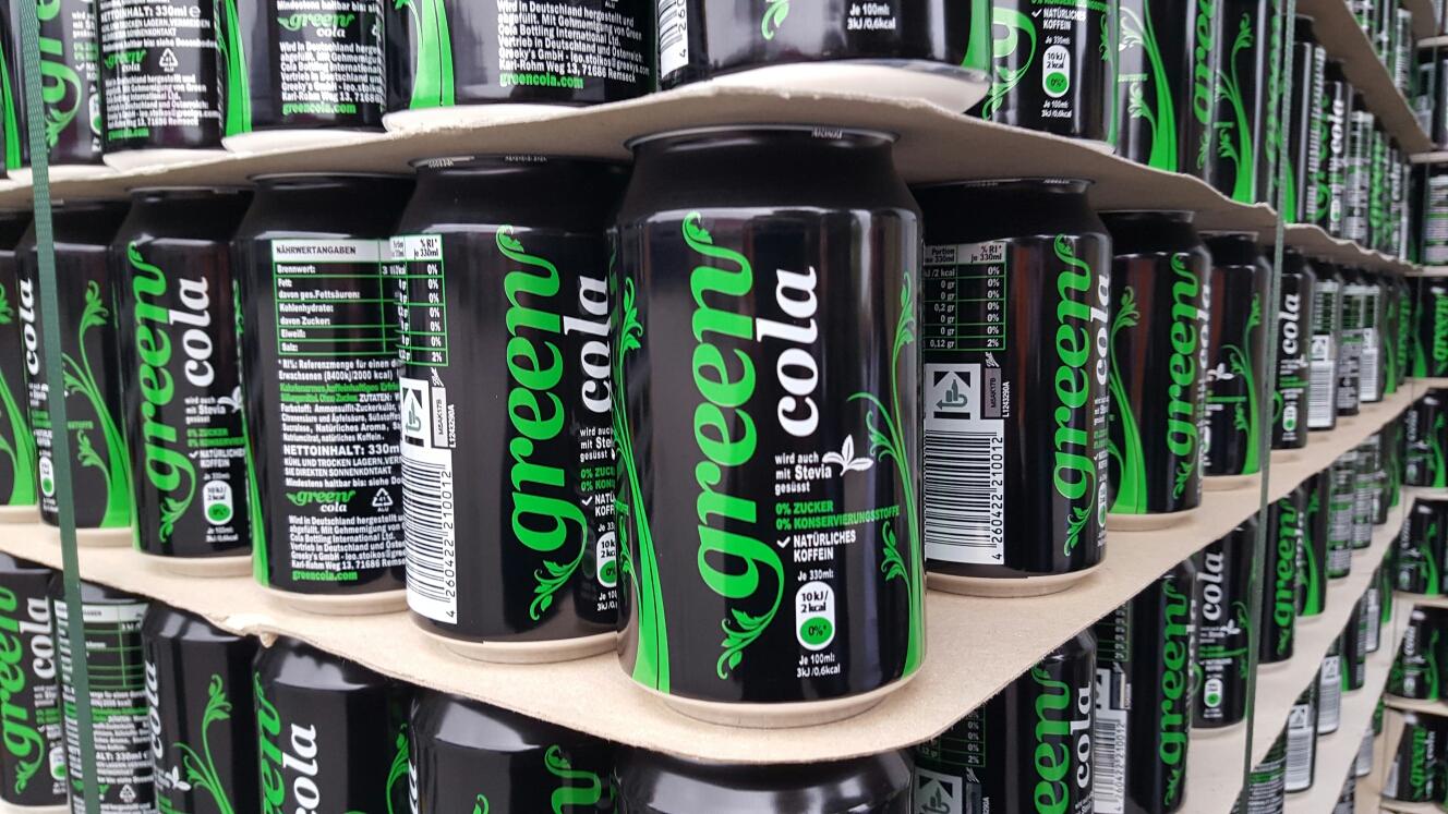 Green Cola: Die neue natürliche Cola für Individualisten und Genießer!