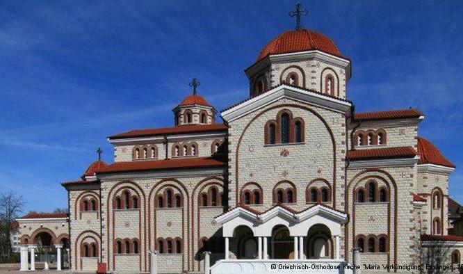 Όλες οι Ελληνικές Ορθόδοξες Εκκλησίες στη Γερμανία