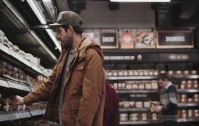 Το πρώτο σούπερ μάρκετ που φεύγεις χωρίς να πληρώσεις ειναι γεγονός (vid)