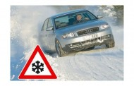 O δεκάλογος της οδήγησης σε παγωμένους δρόμους