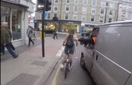 Η εκδίκηση μιας ποδηλάτισσας στον οδηγό που την παρενοχλούσε στο δρόμο