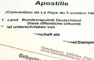 Γερμανία: Η διαφορά μεταξύ Apostille, επικύρωσης (Beglaubigung) και επικυρωμένης μετάφρασης (beglaubigte Übersetzung)