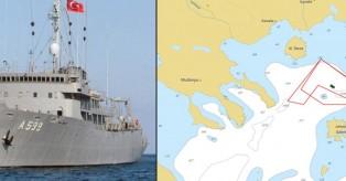 Βγήκε στο Αιγαίο το Τσεσμέ – Η κορύφωση της τουρκικής πρόκλητικότητας