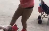 Σοκαριστικό βίντεο: Μητέρα κλωτσάει επανειλημμένα βρέφος επειδή κλαίει