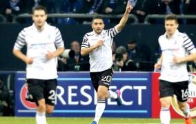 Υπερήφανος ΠΑΟΚ, 1-1 με τη Σάλκε στη Γερμανία