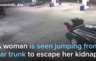 Συγκλονιστικό βίντεο: Θύμα απαγωγής πηδά από αυτοκίνητο εν κινήσει