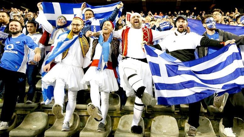 Πανηγύρισαν με την ψυχή τους! Η ελληνική κερκίδα στο Βέλγιο