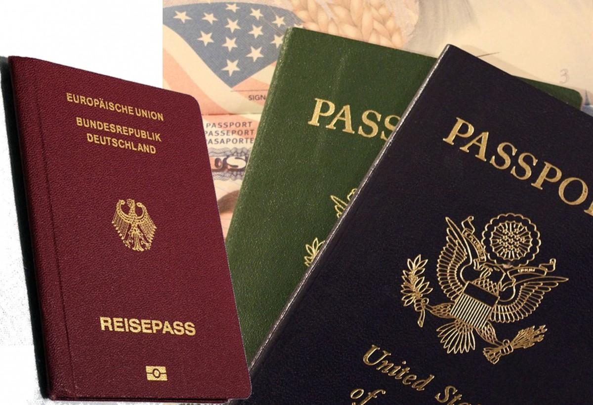 Γερμανία: Κόκκινο, μπλε, πράσινο ή μαύρο. Τι σημαίνουν τα διαφορετικά χρώματα των διαβατηρίων;