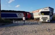 Φθιώτιδα: Τρένο συγκρούστηκε με νταλίκα