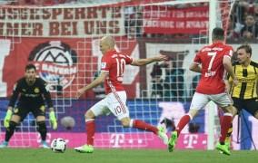 Ένα βήμα πριν τον τίτλο: Η Μπάγερν διέλυσε 4-1 την Ντόρτμουντ στο Μόναχο