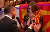 Eurovision: Πρόταση γάμου στην εκπρόσωπο του F.Y.R.O.M