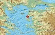 Νέα σεισμική δόνηση 4,7 Ρίχτερ στη Μυτιλήνη