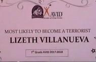Δάσκαλος απολύθηκε διότι απένειμε «τρομοκρατικό βραβείο» σε 13χρονη μαθήτρια