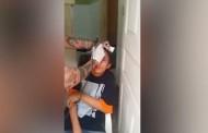 Βίντεο σοκ: Έκαναν τατουάζ στο μέτωπο τρομοκρατημένου έφηβου «κλέφτη» για να τον τιμωρήσουν