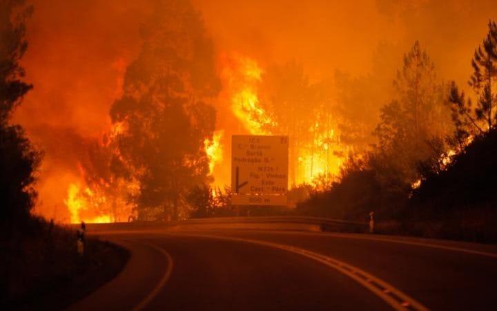 Φονική πυρκαγιά στην Πορτογαλία -Τουλάχιστον 24 νεκροί