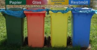Στη Γερμανία ο διαχωρισμός των απορριμμάτων είναι υποχρεωτικός! Τι πετιέται όμως στον κάθε κάδο;