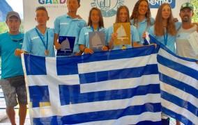 Θρίαμβος για την ελληνική ιστιοπλοΐα με τέσσερα μετάλλια στο Πανευρωπαϊκό U19