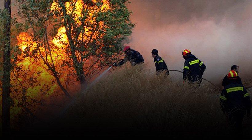 Μάχες με τις φλόγες σε όλη την Ελλάδα