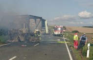 Thüringen: Τραγωδία! Δύο άνθρωποι απανθρακώθηκαν στο αυτοκίνητό τους