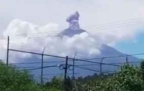 Βίντεο από Μεξικό: Η στιγμή που ο σεισμός ενεργοποιεί το ηφαίστειο Ποποκατεπέτλ