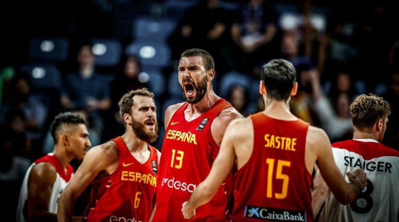 Γερμανία - Ισπανία 72-84: Με ηγέτη τον Μαρκ Γκασόλ
