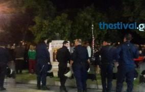 Θεσσαλονίκη: Τρίτη συνεχόμενη μέρα διαμαρτυρίας για την παράσταση «η ώρα του Διαβόλου»