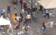 Βίντεο: Ξύλο στη Βαρκελώνη μεταξύ ακροδεξιών χούλιγκαν και οπαδών της Σαμπαντέλ