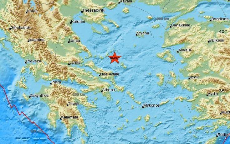 Ισχυρός σεισμός 5.2 ρίχτερ στην Αλόννησο - Ιδιαίτερα αισθητός μέχρι και την Αθήνα