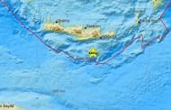 Κρήτη: Σεισμική δόνηση 3,8 Ρίχτερ νότια του νησιού