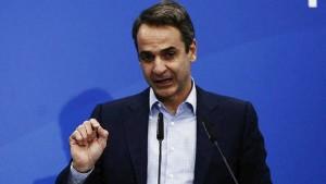 Μητσοτάκης για Ρουβίκωνα: Οι παραβατικές συμπεριφορές τελειώνουν μόλις αναλάβει κυβέρνηση η ΝΔ