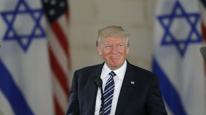 Ο Τραμπ ανακοίνωσε ότι οι ΗΠΑ αναγνωρίζουν την Ιερουσαλήμ ως πρωτεύουσα του Ισραήλ