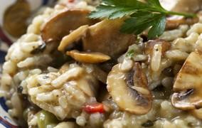 Η Τέλεια συνταγή για Ριζότο με μανιτάρια
