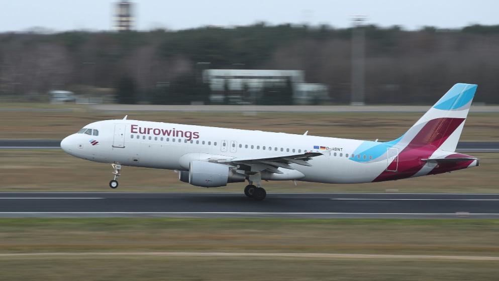 Γερμανία - Eurowings: Εκπτώσεις σε εκατομμύρια Εισιτήρια