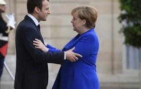 Μακρόν - Μέρκελ: Αύριο συζητούν το μέλλον της Ευρώπης