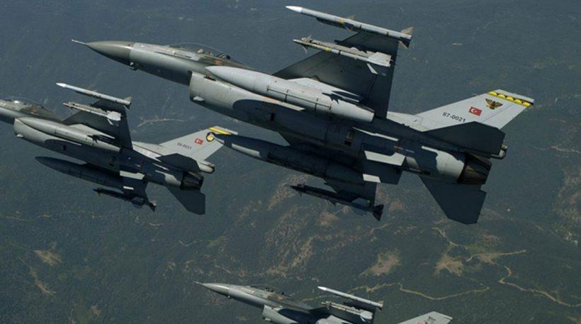 Δεκάδες παραβιάσεις και αερομαχία με οπλισμένα τουρκικά F-16 στο Αιγαίο