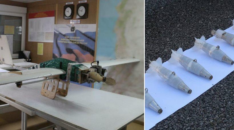 Φωτογραφίες από τα drones των τζιχαντιστών που επιτέθηκαν στις ρωσικές βάσεις στη Συρία