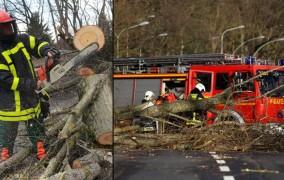 Βίντεο: Οι άνεμοι ξεριζώνουν σκεπές στη Γερμανία την Ολλανδία και το Βέλγιο - Στους 5 οι νεκροί